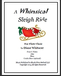 A Whimsical Sleigh Ride! for flute choir by Di  -PDF Download
