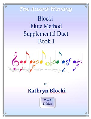 Blocki Flute Method Duet Book 1