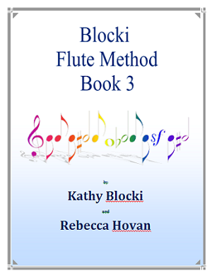 NEW!   Blocki Flute Method Student Book 3